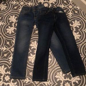 2 Pair OLD NAVY Boys Skinny Jeans NEW! Sz 8